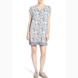 Madewell 'Flora Paisley' Silk Tunic Dress